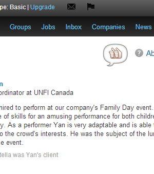 UNFI Canada - Yan Markson Reference